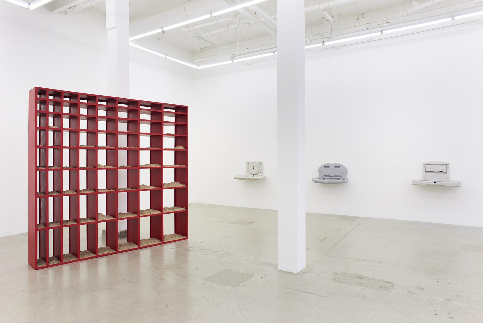 Wermers_Grundstück, 2017_Jessica Silverman Gallery_installation view_015