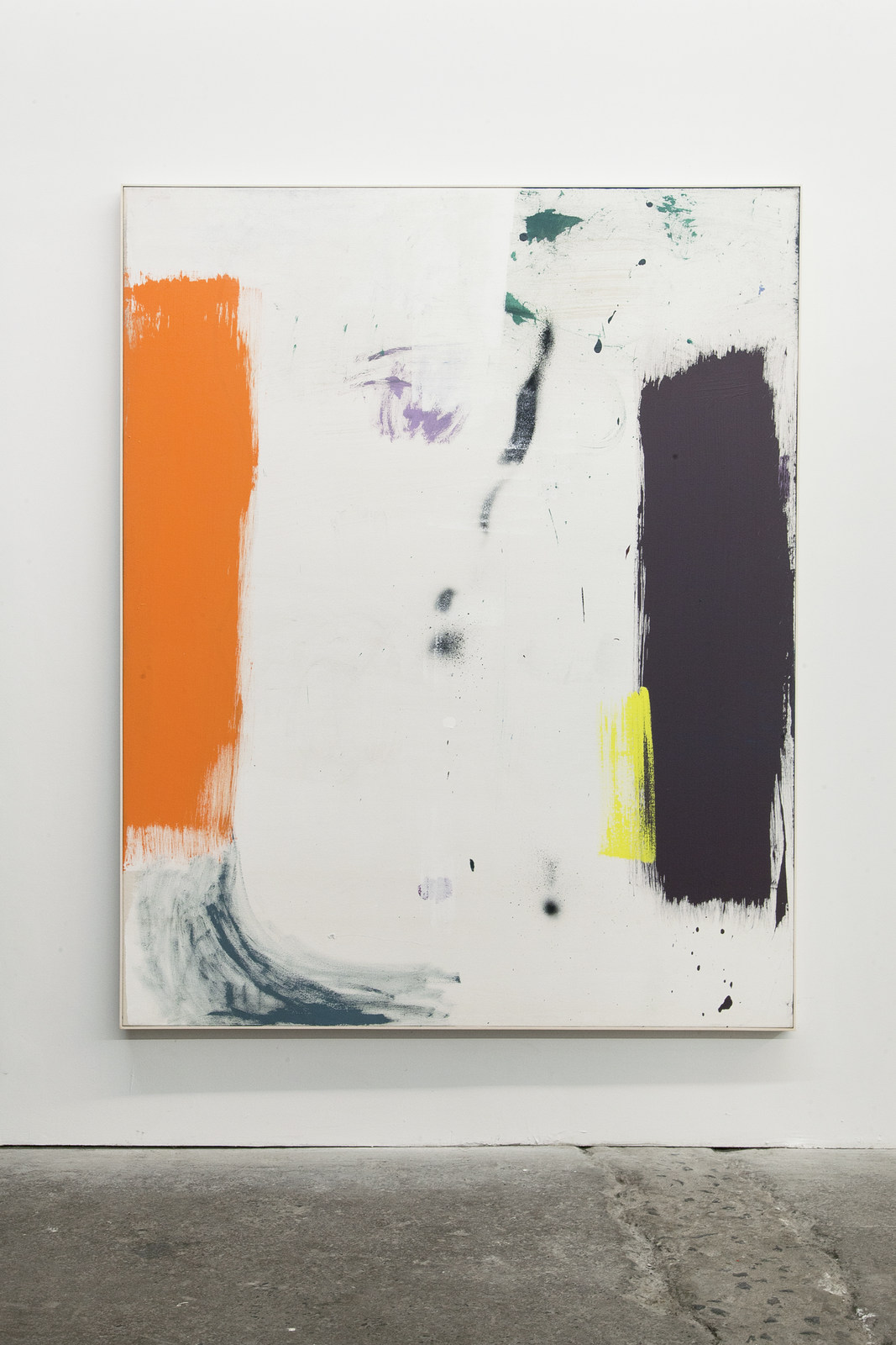 02_Jean-François Lauda. Untitled 32. Acrylic on canvas 193 x 152.5 cm. 2016