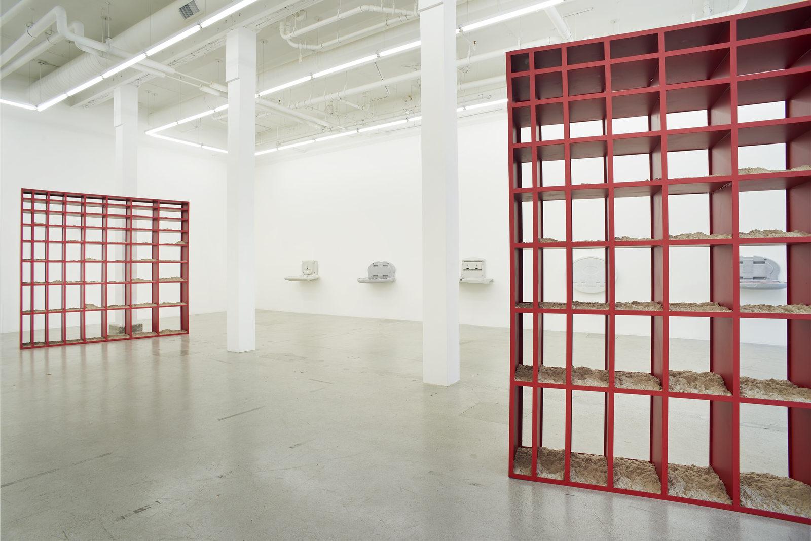 Wermers_Grundstück, 2017_Jessica Silverman Gallery_installation view_018