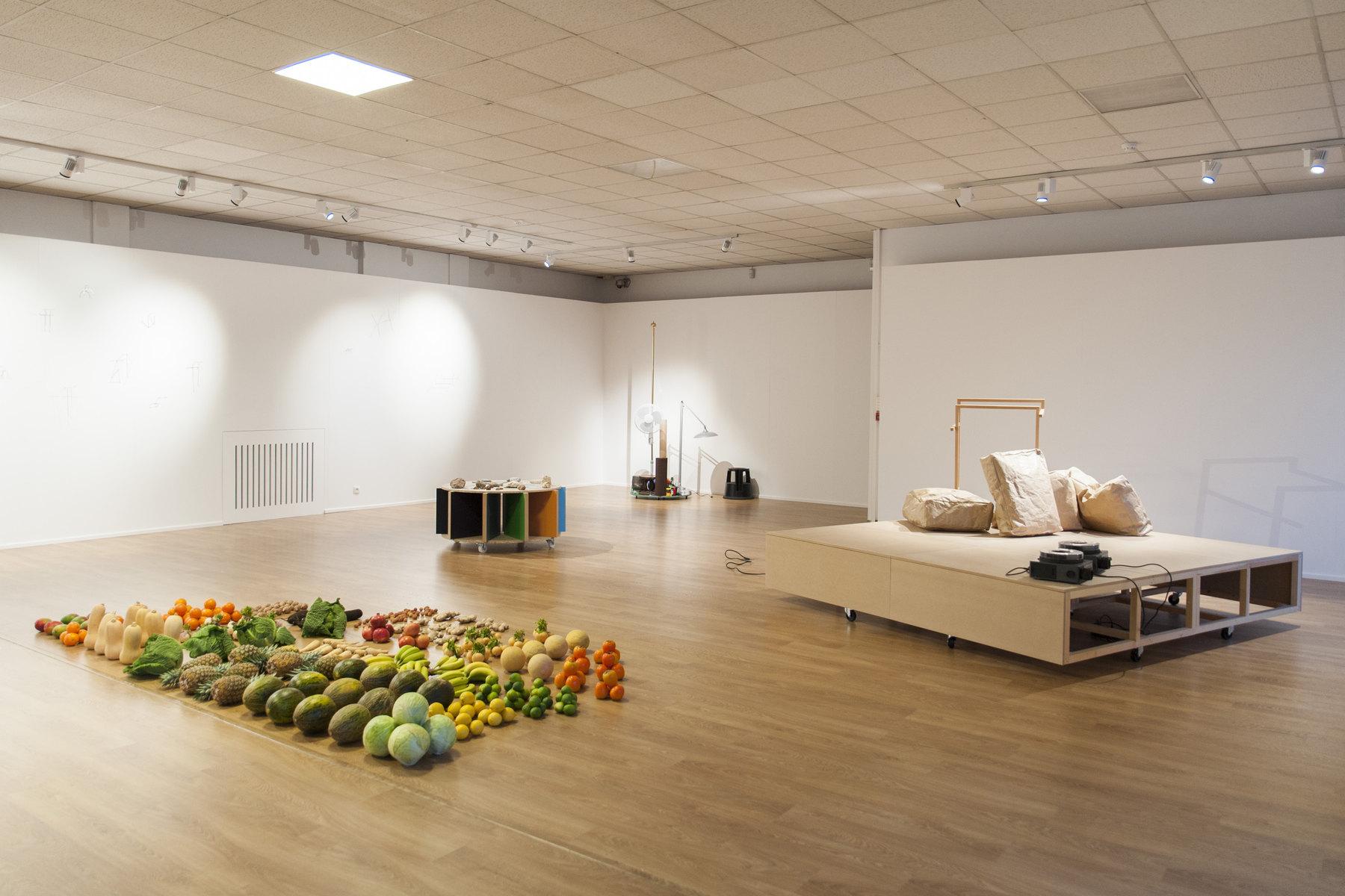 Raffaella Crispino- Hans Demeulenaere, installation view 3