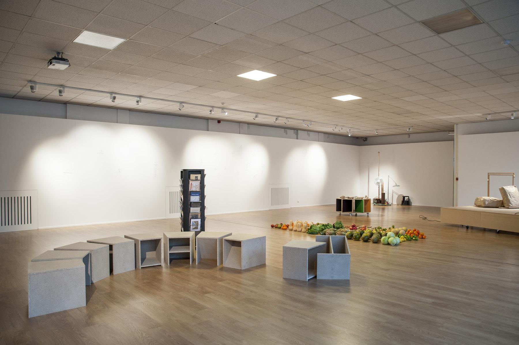 Raffaella Crispino- Hans Demeulenaere, installation view