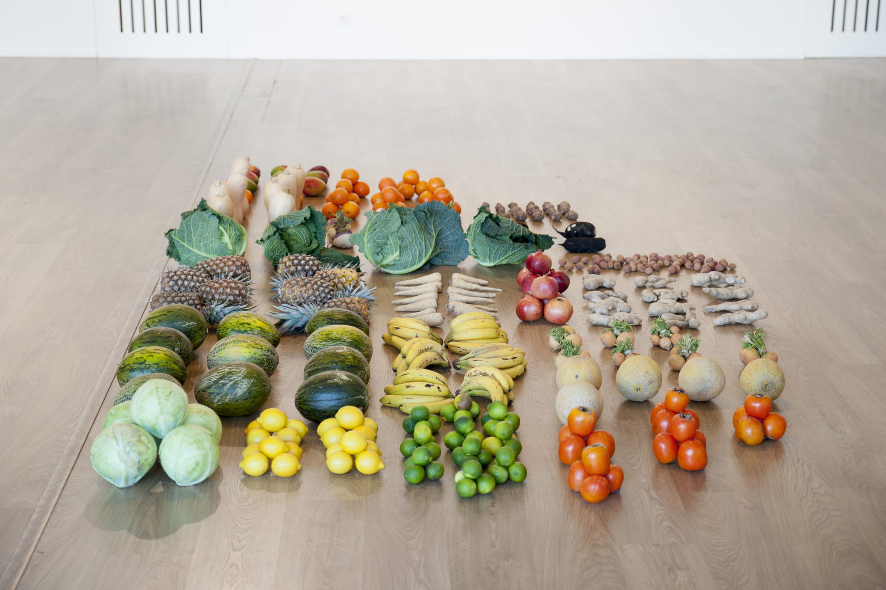 Raffaella Crispino, Untitled (Fruits and vegetables)