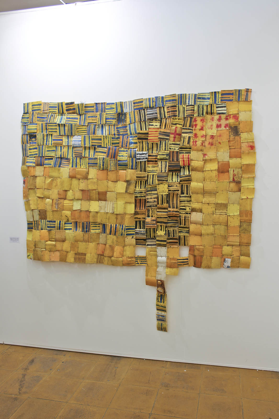 Serge Attukwei Clottery at GNYP Gallery, Berlin 02