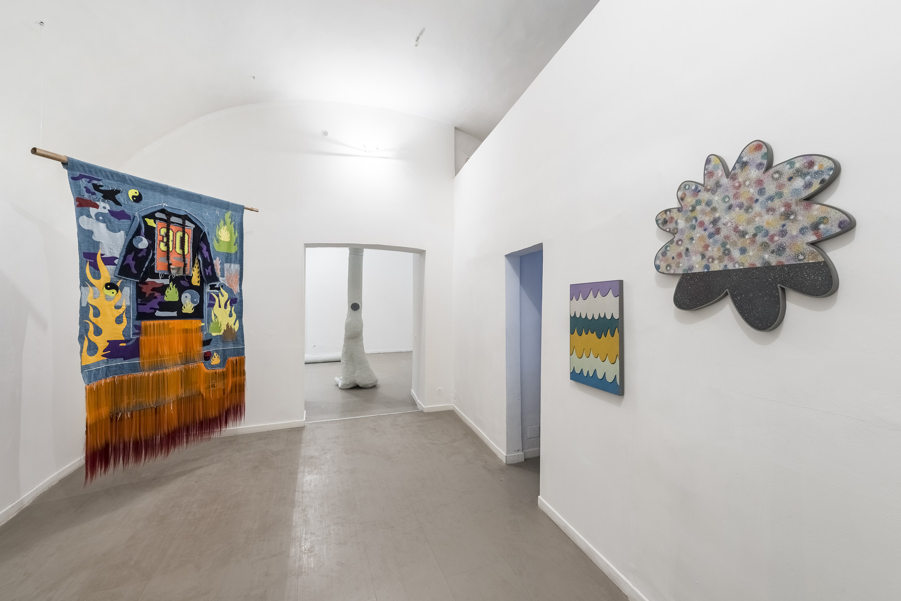 04_Walled Garden In An Insane Eden_2017_Installation View_Room2_z2oSaraZaninGallery_Roma