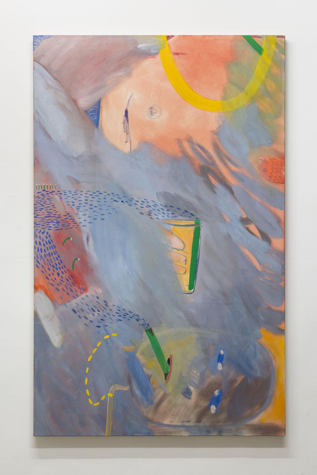 16_Gabriella Boyd_Best Friends_2017_oil on canvas_160x100cm