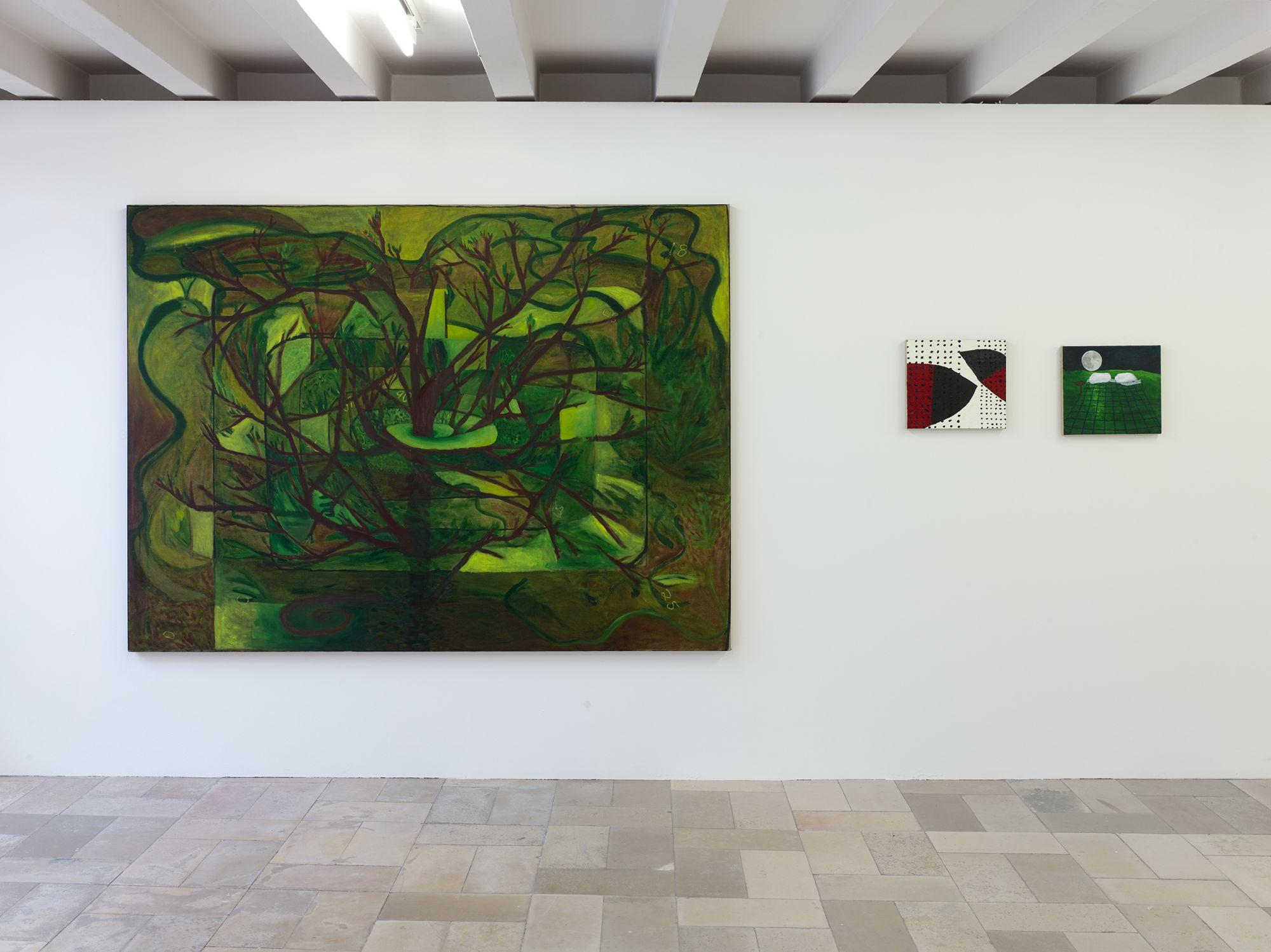 Installation view, Leidy Churchman - Free Delivery, Kölnischer Kunstverein 2017_Photo Simon Vogel_59_web