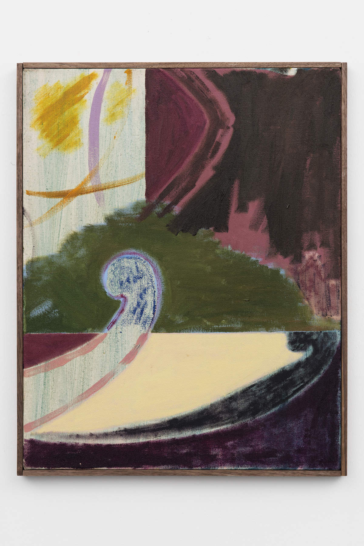 4-Jon-Pilkington-To-Be-Titled-Oil, wax crayon and lacquer on canvas -image courtesy CINNNAMON Rotterdam
