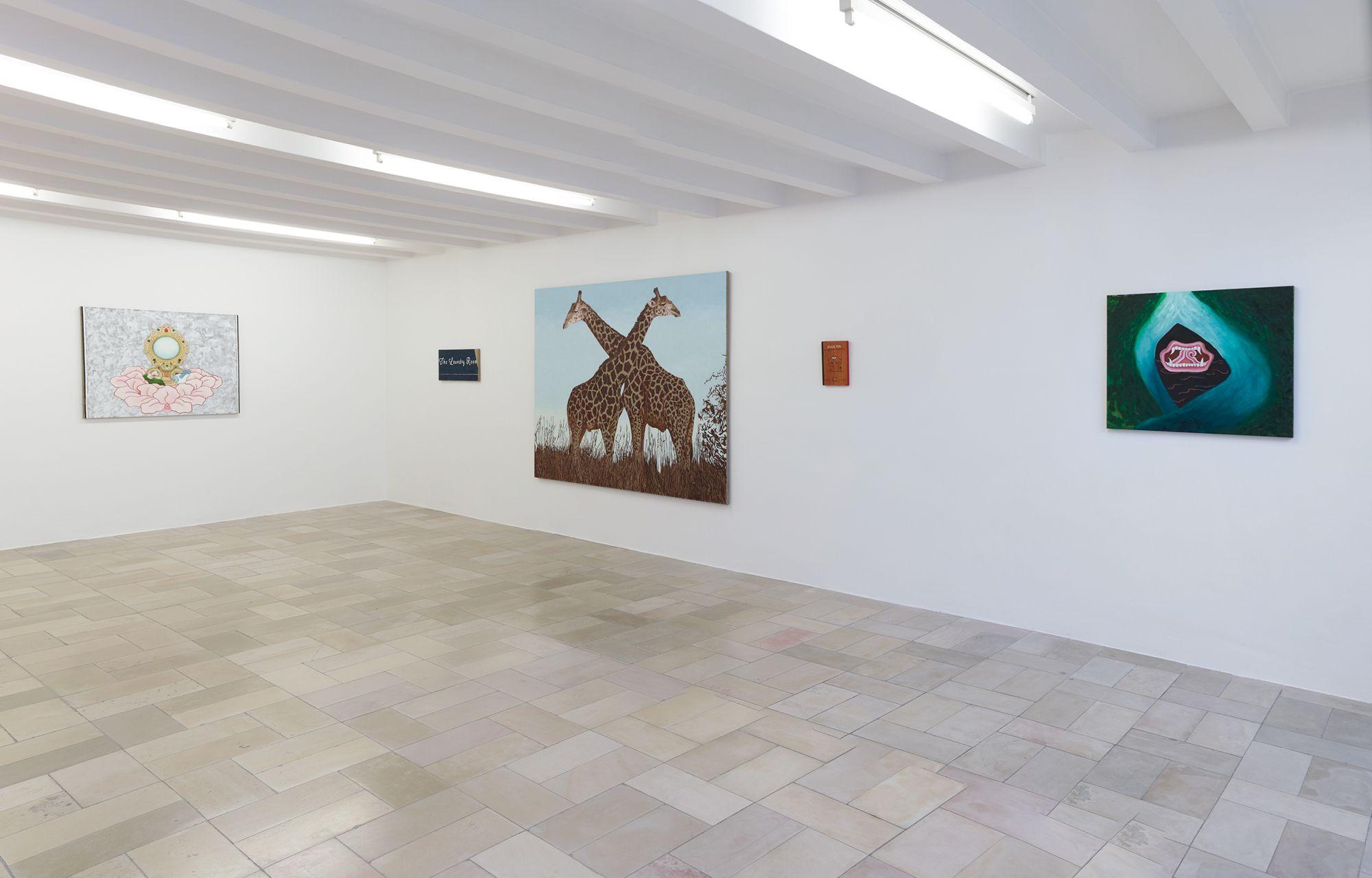 Installation view, Leidy Churchman - Free Delivery, Kölnischer Kunstverein 2017_Photo Simon Vogel_63_web