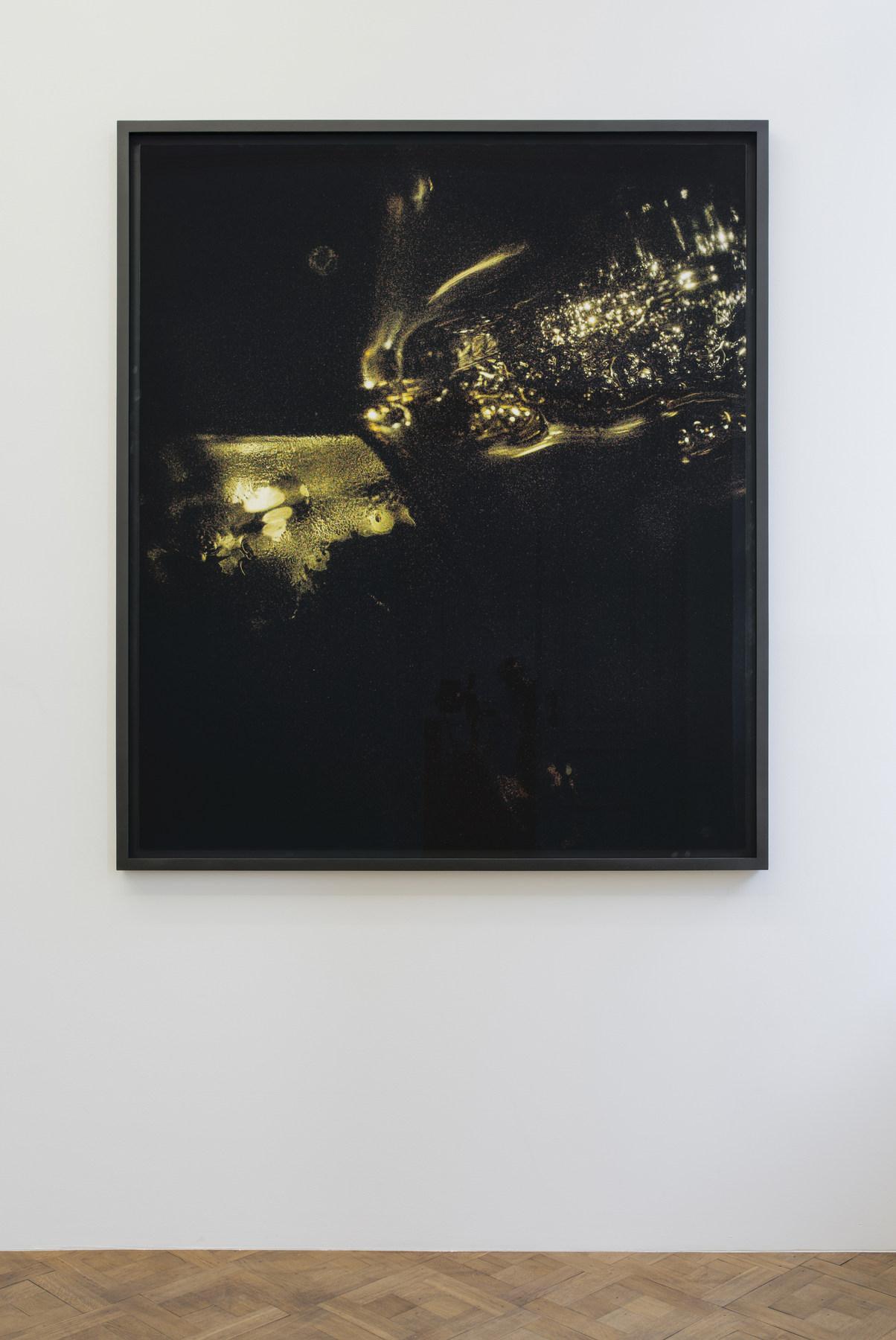 Melik Ohanian, Portrait of Duration — Cesium Series II T1902, 2016, Color photograph mounted on aluminium, 173 x 150 x 5cm (framed), 1_1 + 1 AP