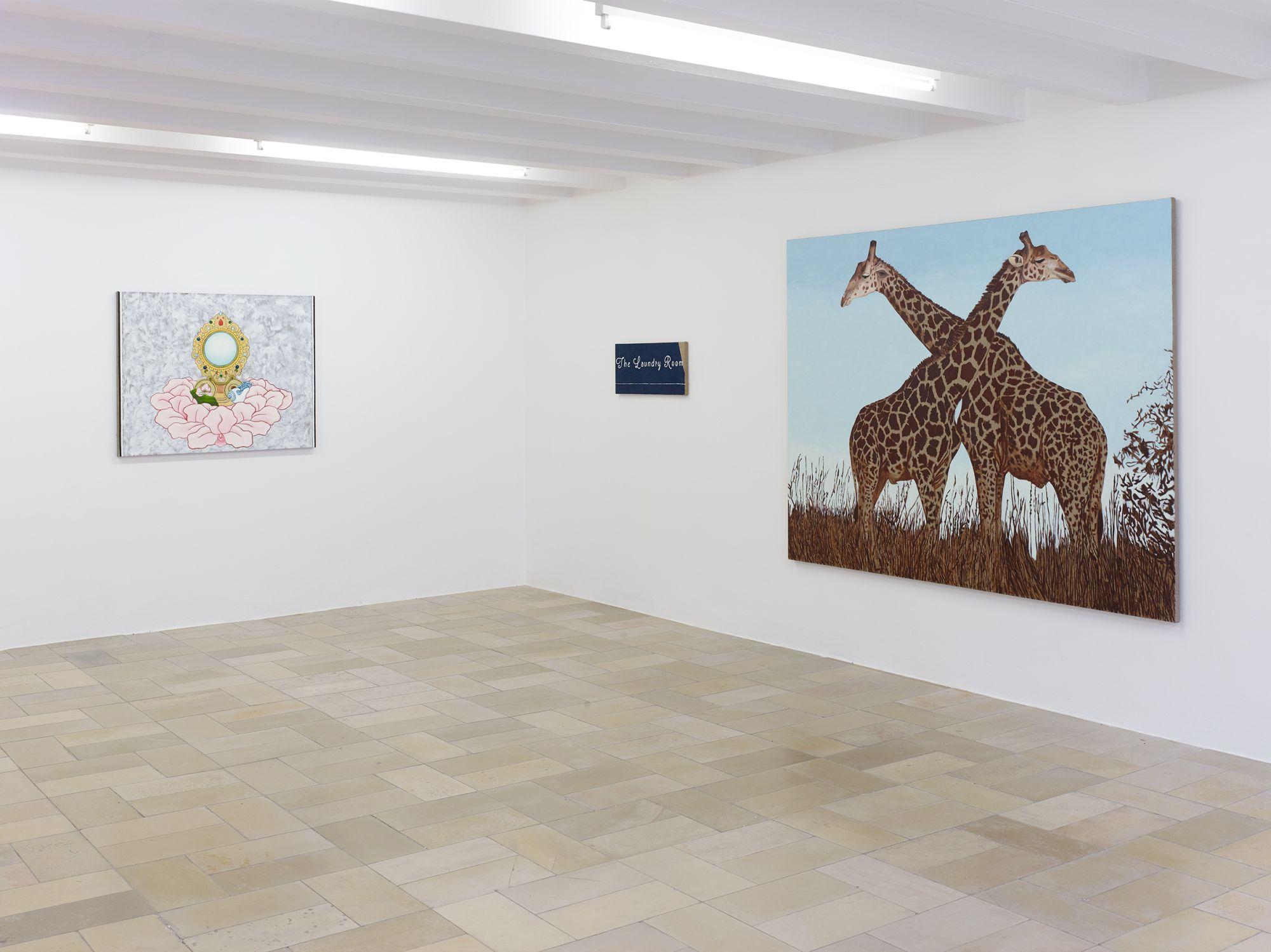 Installation view, Leidy Churchman - Free Delivery, Kölnischer Kunstverein 2017_Photo Simon Vogel_62_web