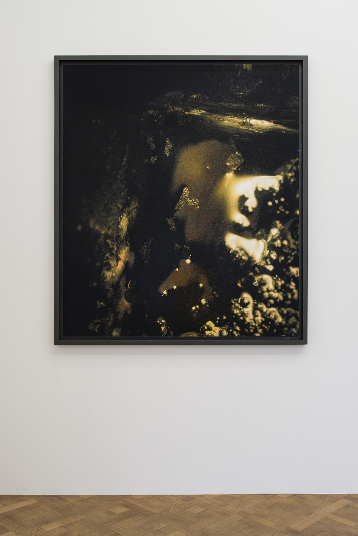 Melik Ohanian, Portrait of Duration — Cesium Series II T0174, 2016, Color photograph mounted on aluminium, 173 x 150 x 5cm (framed), 1_1 + 1 AP