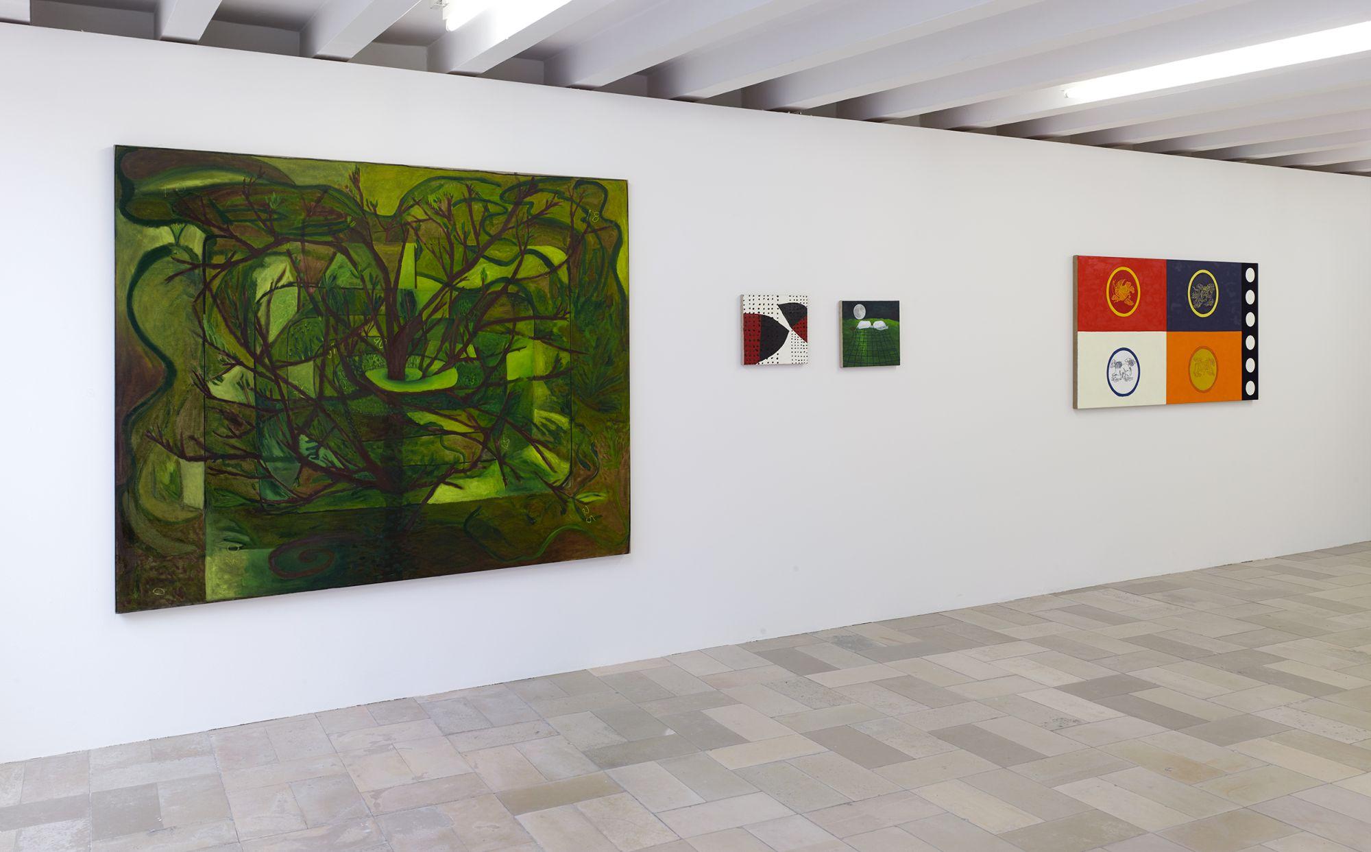 Installation view, Leidy Churchman - Free Delivery, Kölnischer Kunstverein 2017_Photo Simon Vogel_58_web
