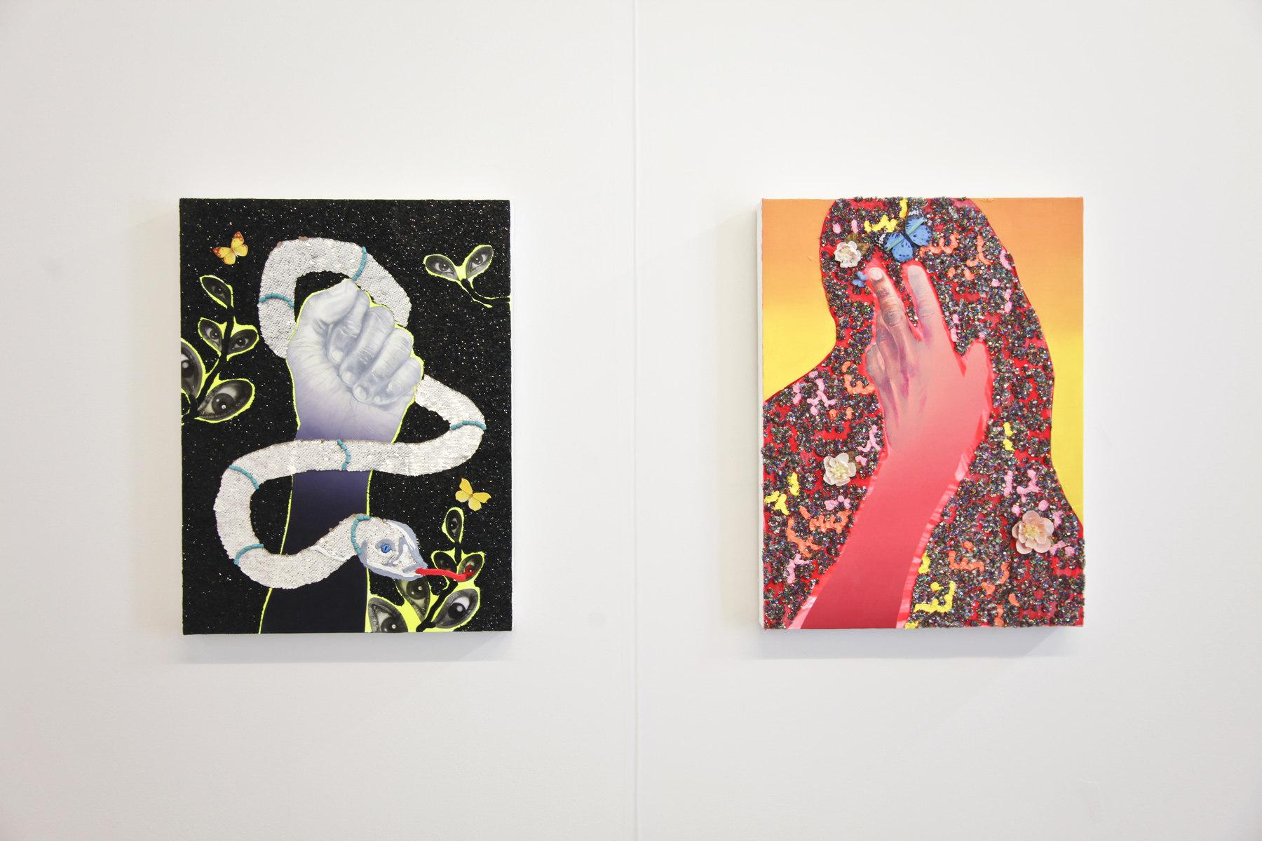 Devan Shimoyama at Stems Gallery 01