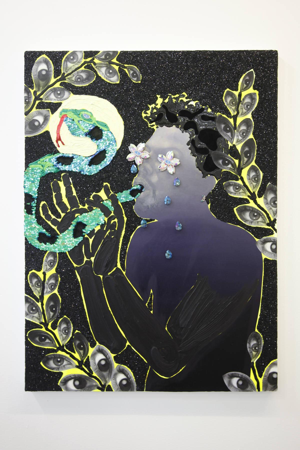 Devan Shimoyama at Stems Gallery 02