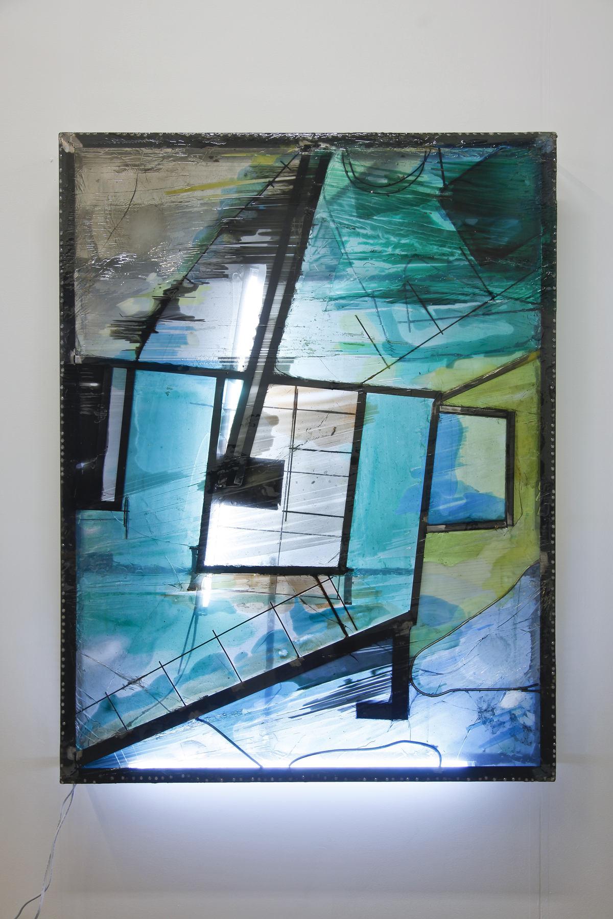 Neil Beloufa at Ghebaly Gallery 01