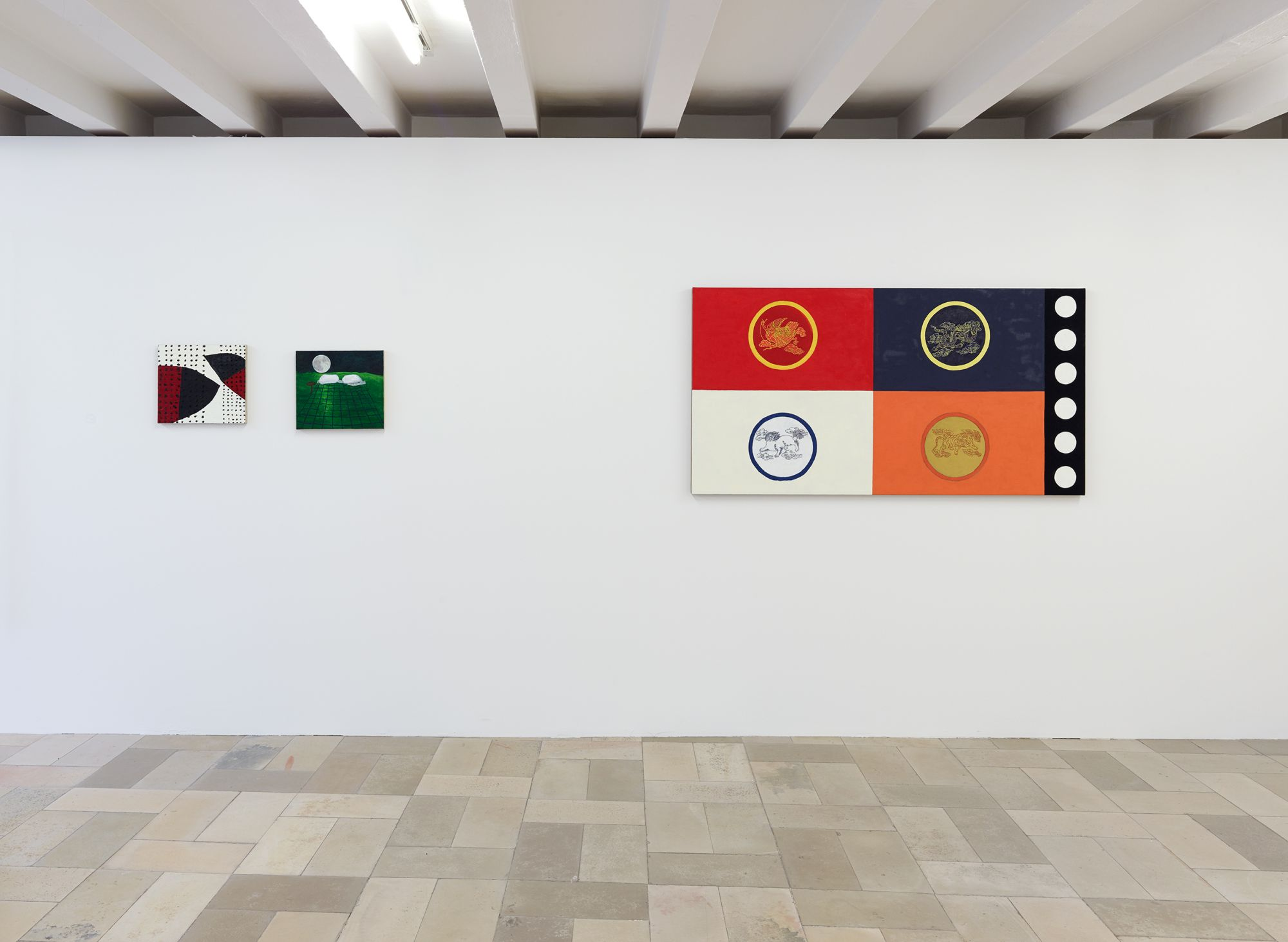 Installation view, Leidy Churchman - Free Delivery, Kölnischer Kunstverein 2017_Photo Simon Vogel_60_web