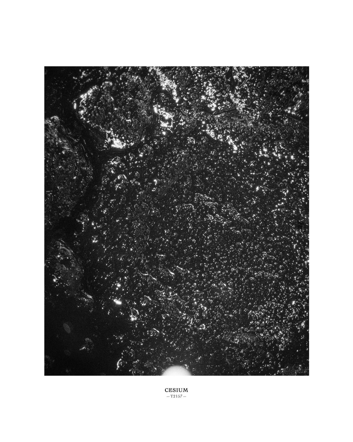 Melik Ohanian, Portrait of Duration — Cesium Series (T2157), 2015, Black and white photograph, 53 x 43 x 5cm (framed), 1_1 + 1 AP