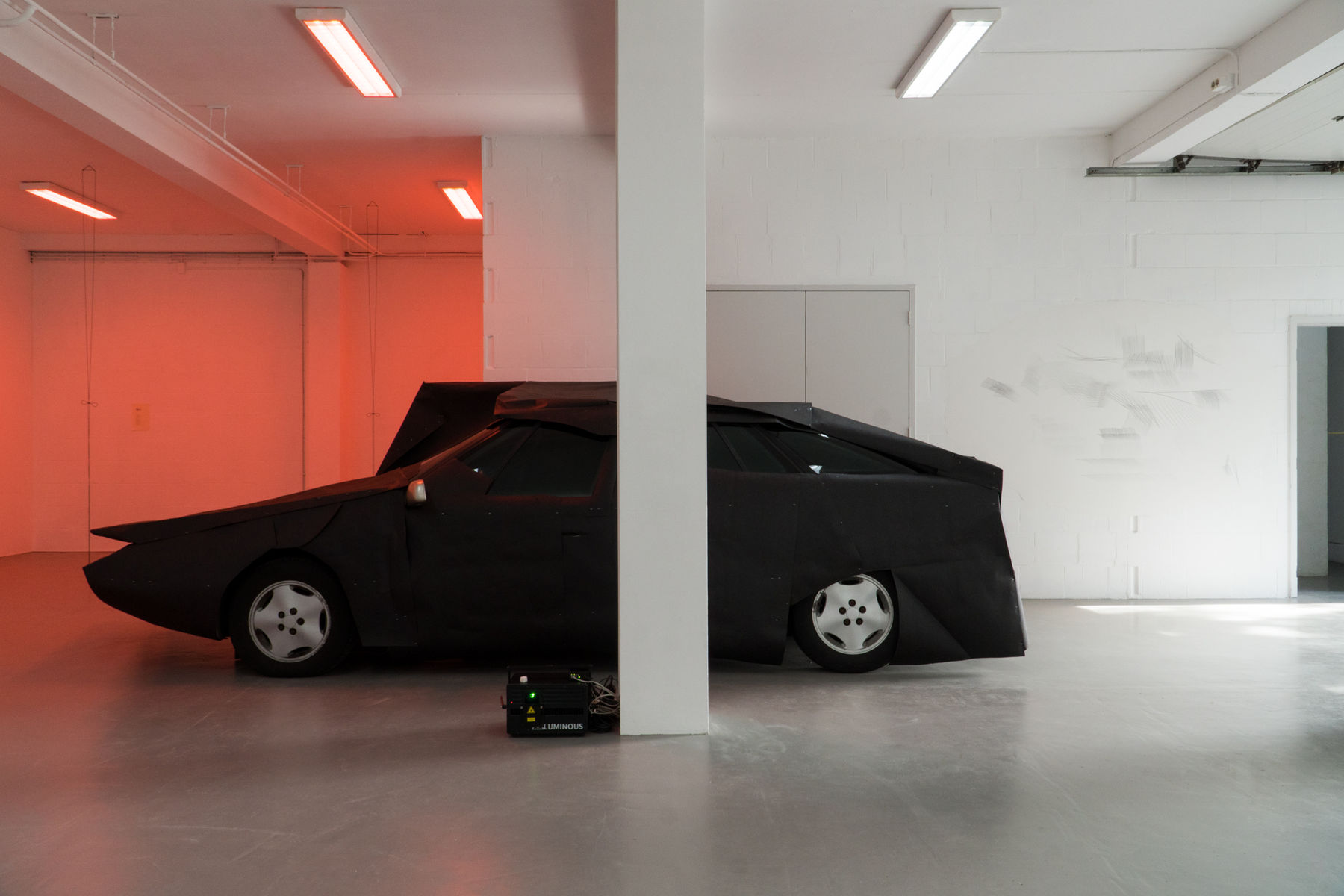 Laura Kaminskaitė And Antanas Gerlikas At PAKT Art Viewer - Car meets today near me